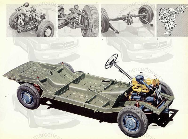 """Catalogue de 1959 sur la Mercedes w121 190 D """"Ponton"""" Ponton45"""