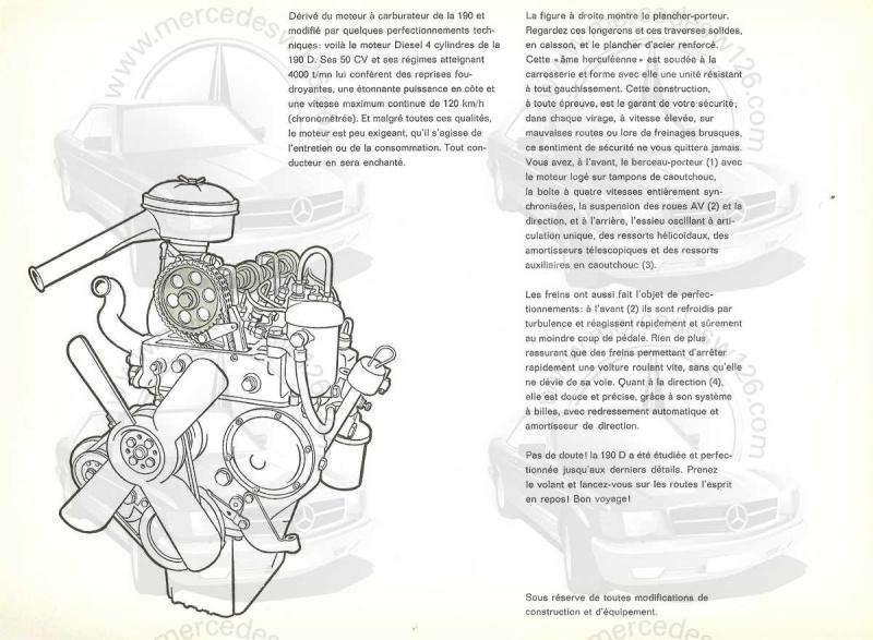 """Catalogue de 1959 sur la Mercedes w121 190 D """"Ponton"""" Ponton47"""