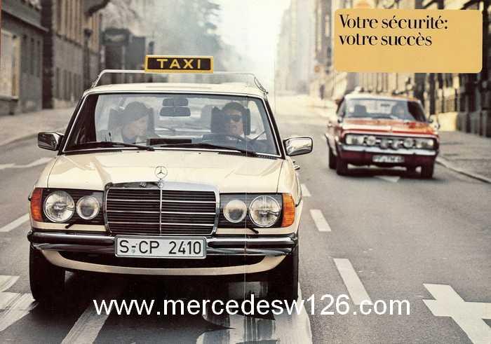 """Catalogue de 1976 sur la gamme """"taxi"""" Mercedes W123 Taxi_118"""