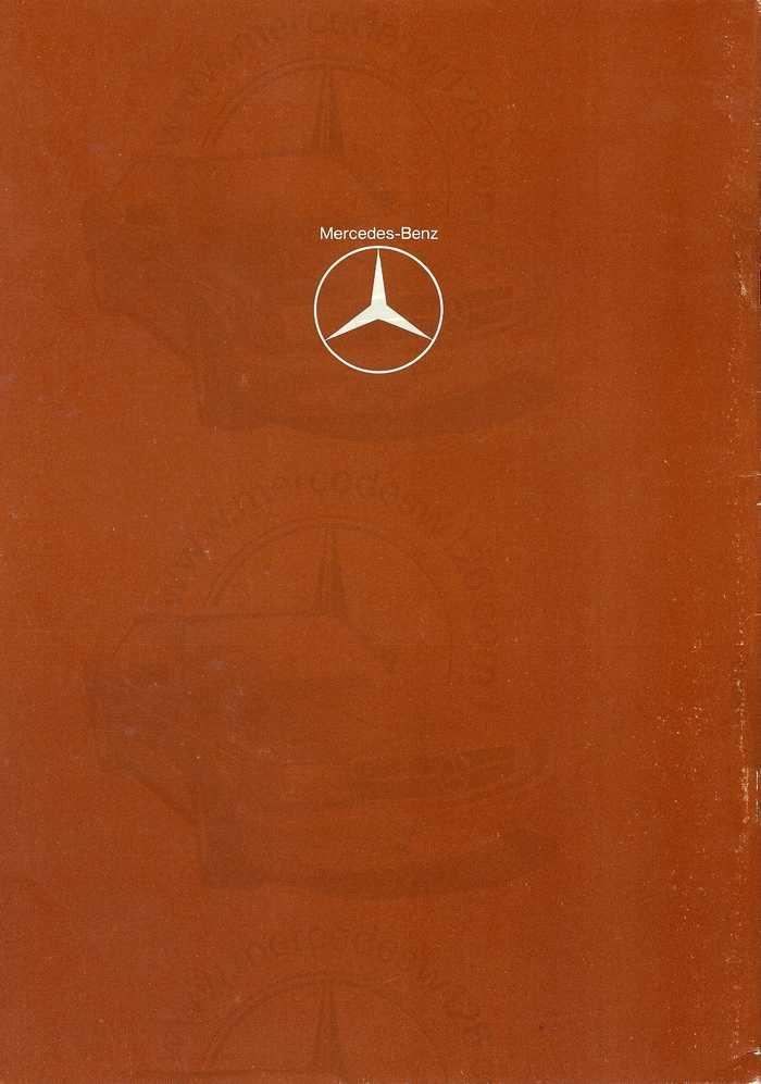 """Catalogue de 1976 sur la gamme """"taxi"""" Mercedes W123 Taxi_122"""