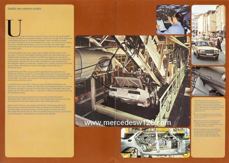 """Catalogue de 1976 sur la gamme """"taxi"""" Mercedes W123 Taxi_126"""