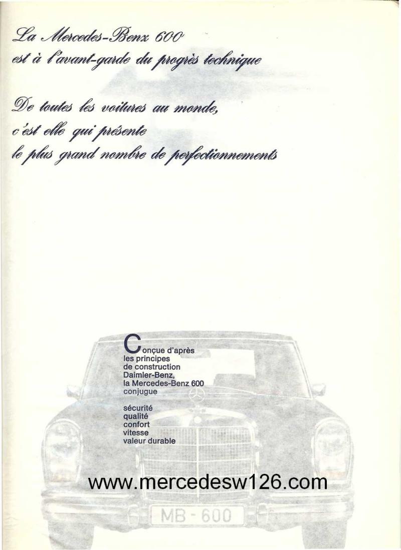 Catalogue de 1968 sur la Mercedes W100 600 W100_111