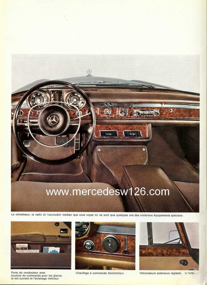 Catalogue de 1968 sur la Mercedes W100 600 W100_113