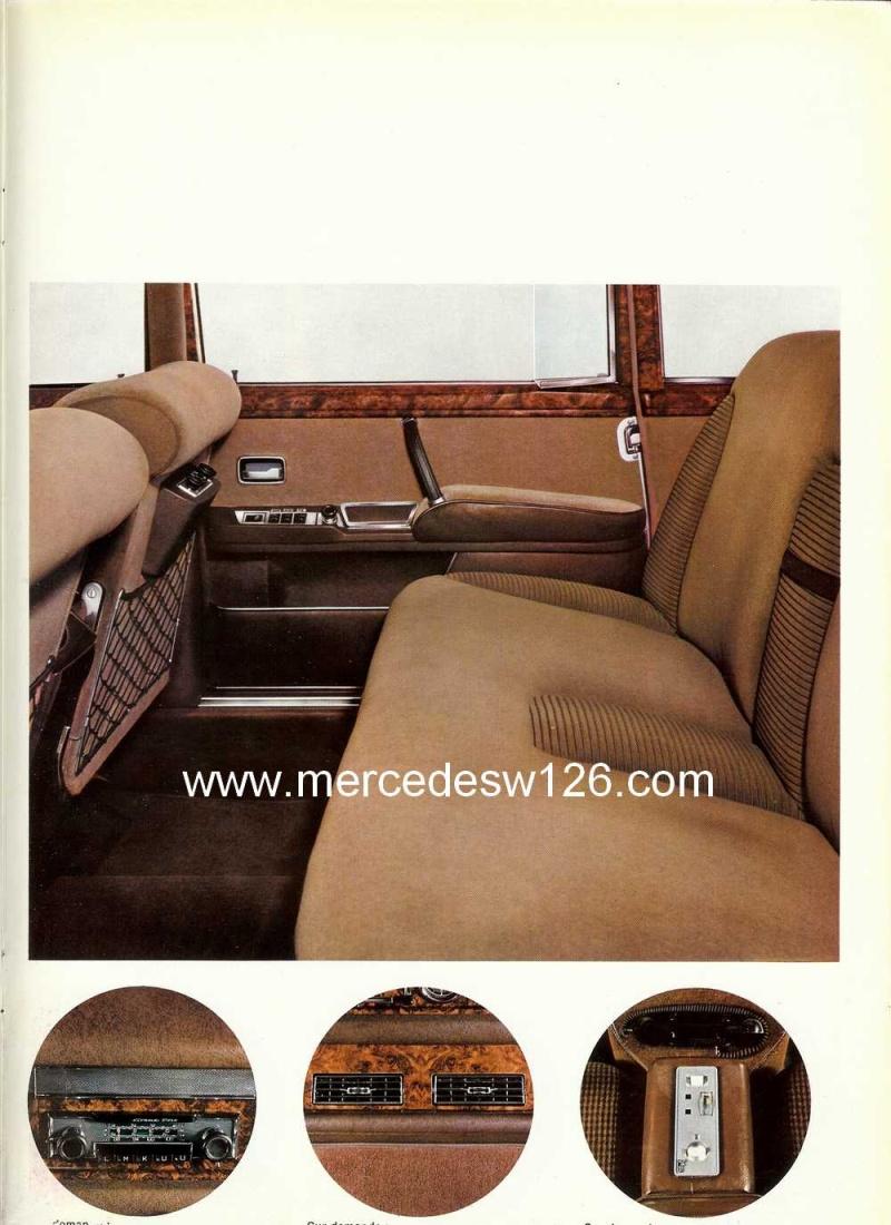 Catalogue de 1968 sur la Mercedes W100 600 W100_121