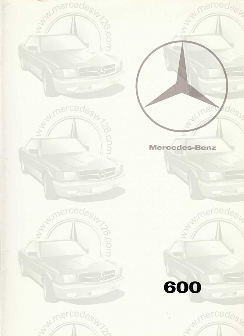Catalogue de 1967 sur la Mercedes W100 600 W100_124