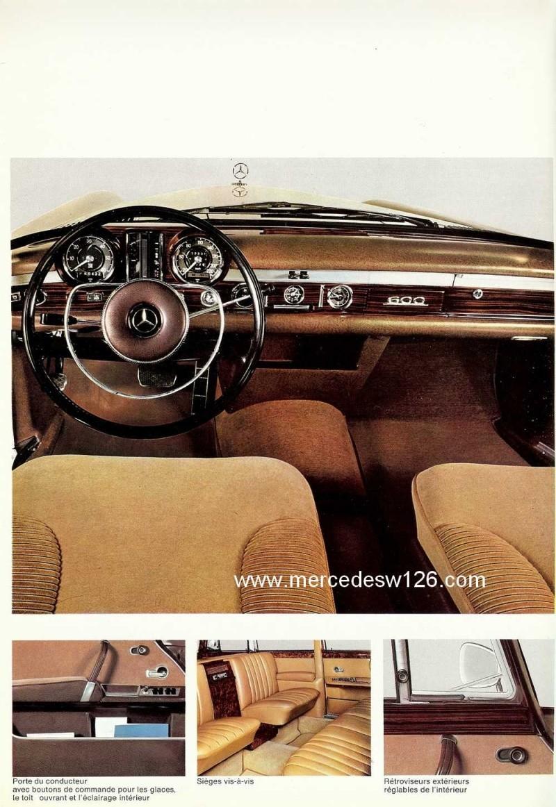 Catalogue de 1967 sur la Mercedes W100 600 W100_128