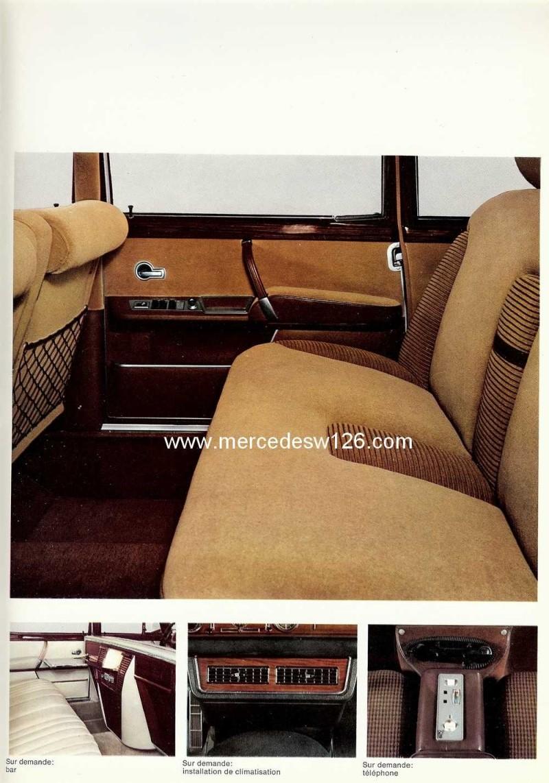 Catalogue de 1967 sur la Mercedes W100 600 W100_130
