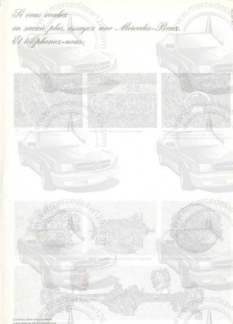 Catalogue de 1967 sur la Mercedes W100 600 W100_131