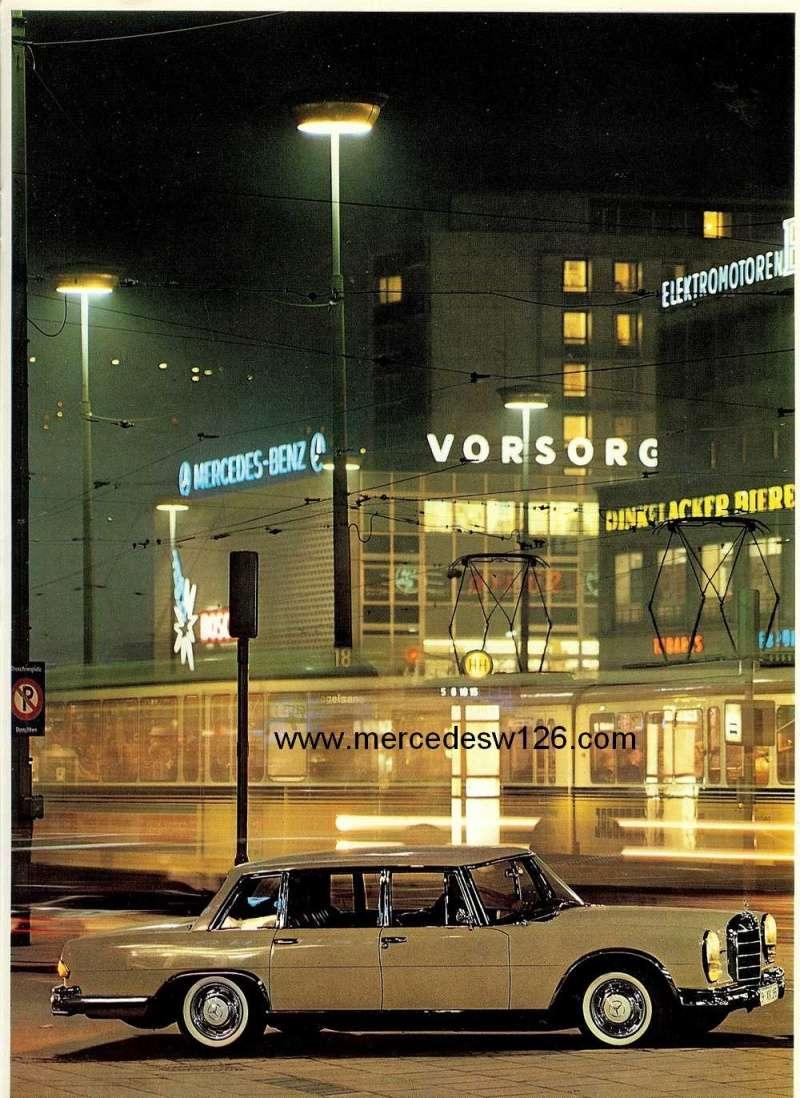 Catalogue de 1967 sur la Mercedes W100 600 W100_132