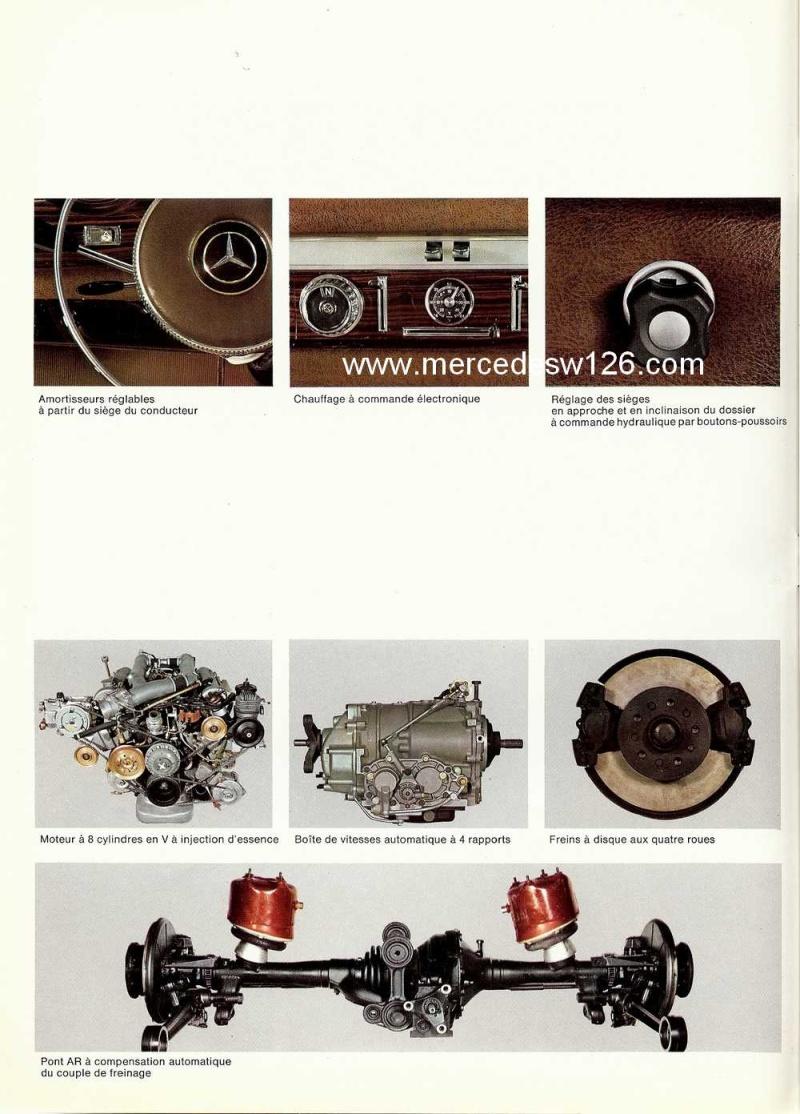 Catalogue de 1967 sur la Mercedes W100 600 W100_135