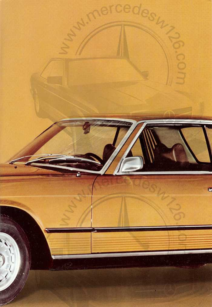 Catalogue Mercedes 350 & 450 SLC en mars 1973 W107_149