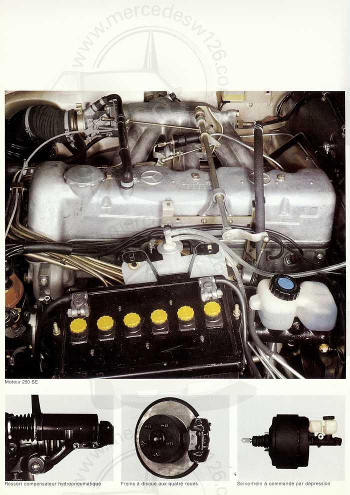 Catalogue de 1967 sur les Mercedes W108 250 S, 250 SE et 300 SE W108_113