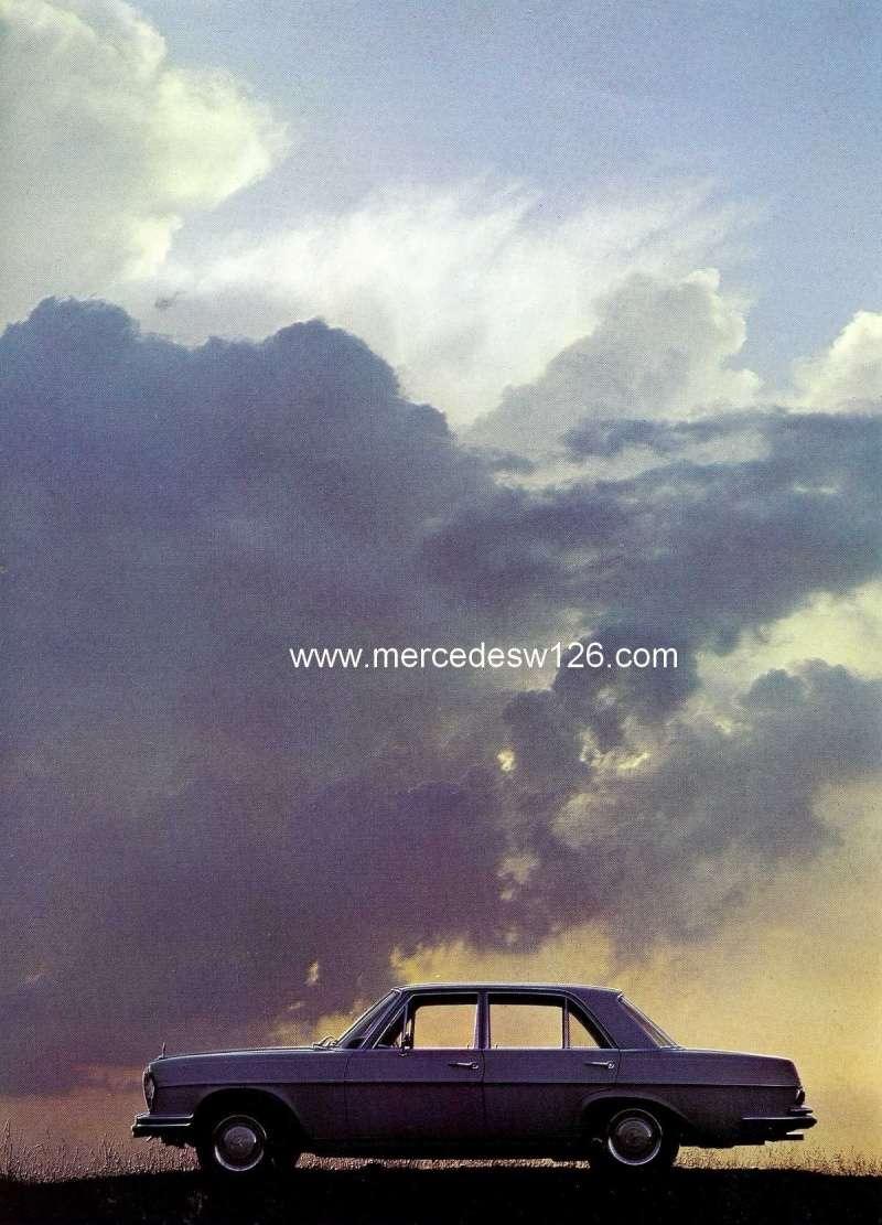 Catalogue de 1967 sur les Mercedes W108 250 S, 250 SE et 300 SE W108_115