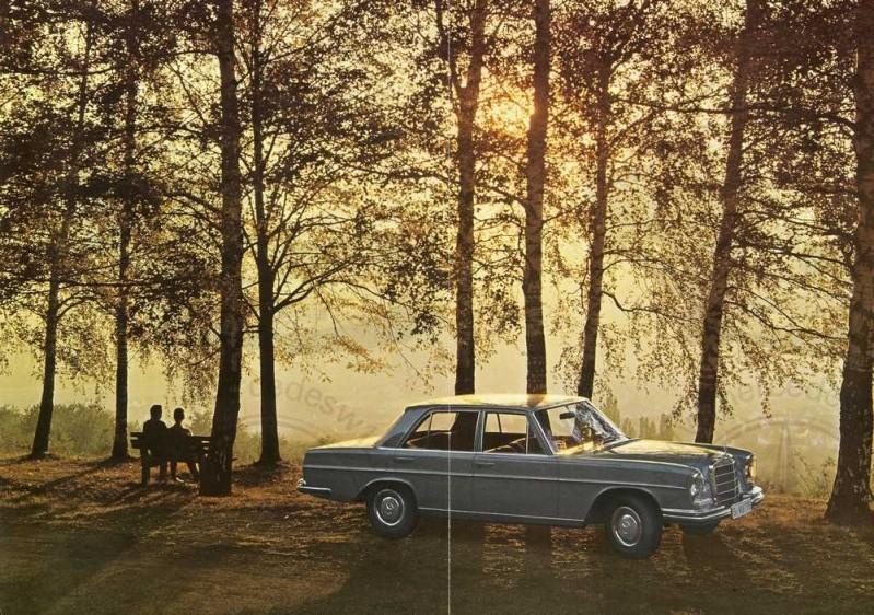 Catalogue de 1965 sur les Mercedes W108 250 S, 250 SE et 300 SE W108_126