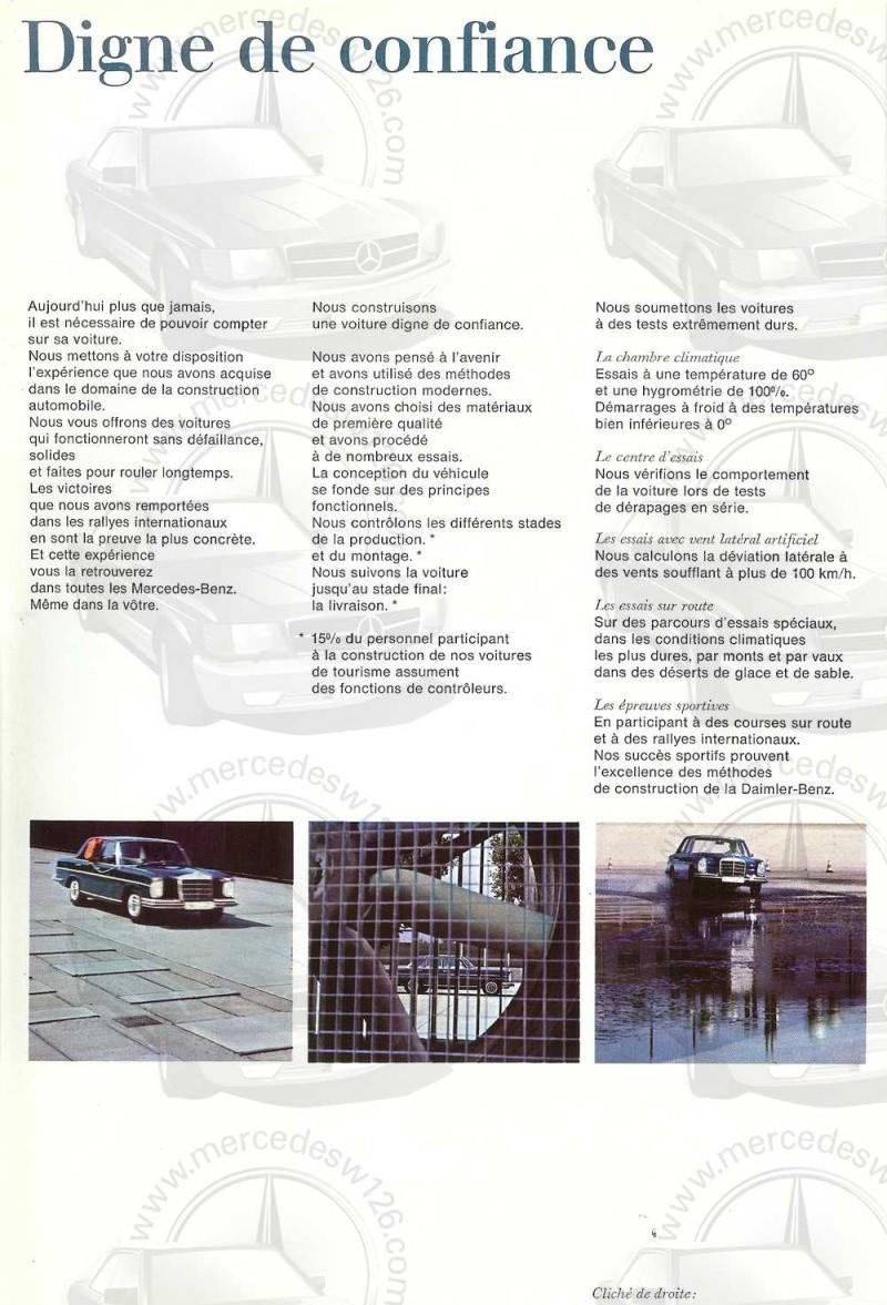 Catalogue de 1965 sur les Mercedes W108 250 S, 250 SE et 300 SE W108_129
