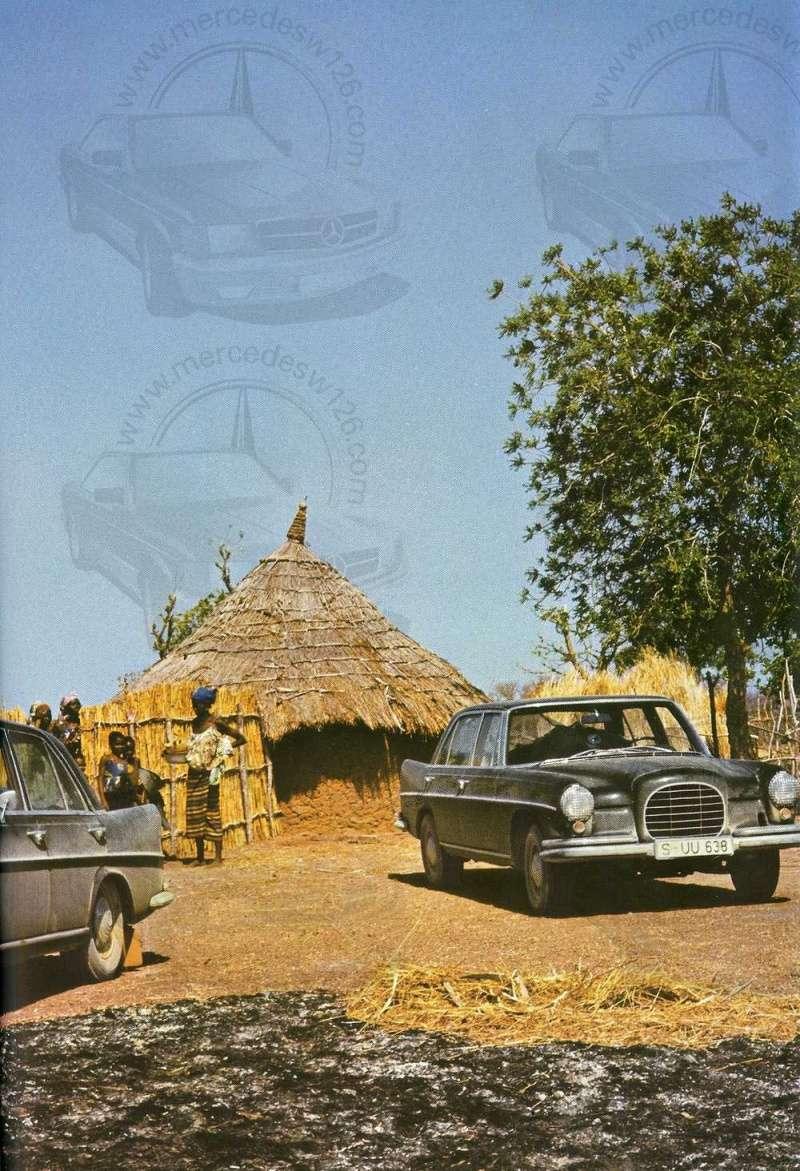 Catalogue de 1965 sur les Mercedes W108 250 S, 250 SE et 300 SE W108_130