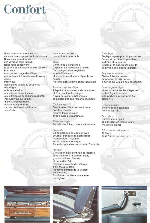 Catalogue de 1965 sur les Mercedes W108 250 S, 250 SE et 300 SE W108_131
