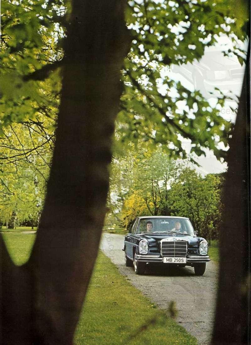 Catalogue de 1965 sur les Mercedes W108 250 S, 250 SE et 300 SE W108_134