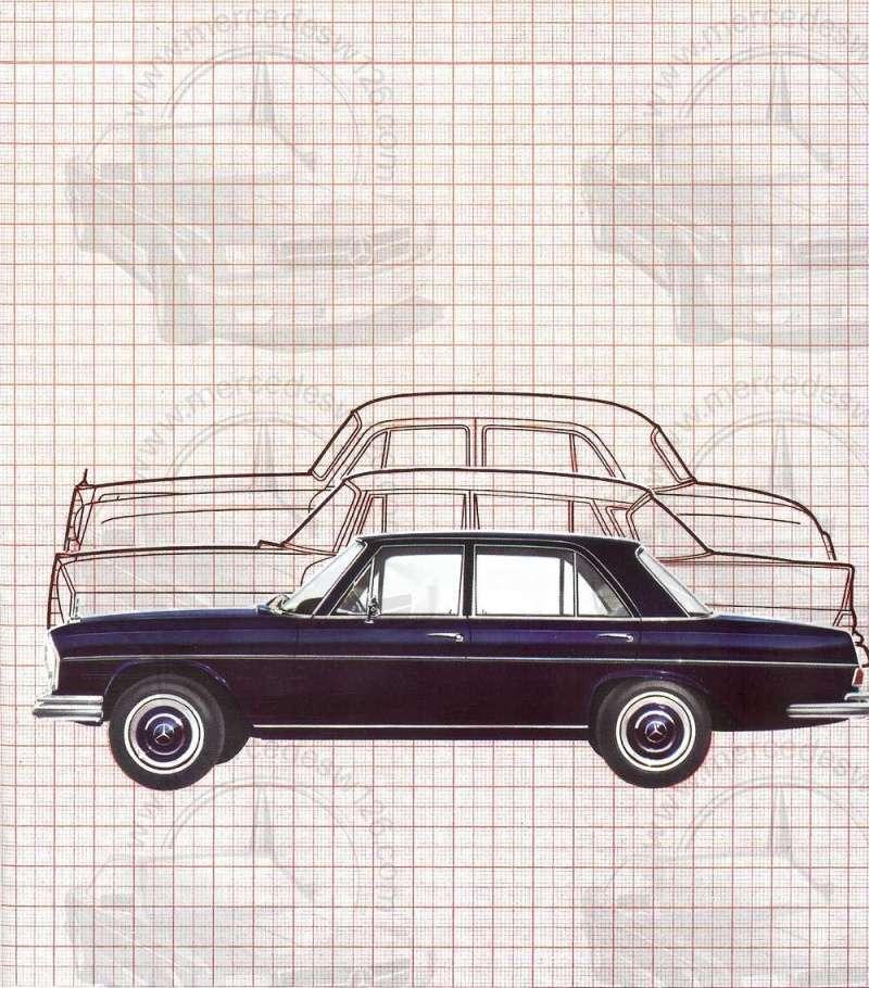 Catalogue de 1965 sur les Mercedes W108 250 S, 250 SE et 300 SE W108_138