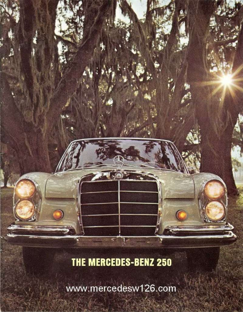 Catalogue de 1966 sur les Mercedes W108 250 américaines W108_224