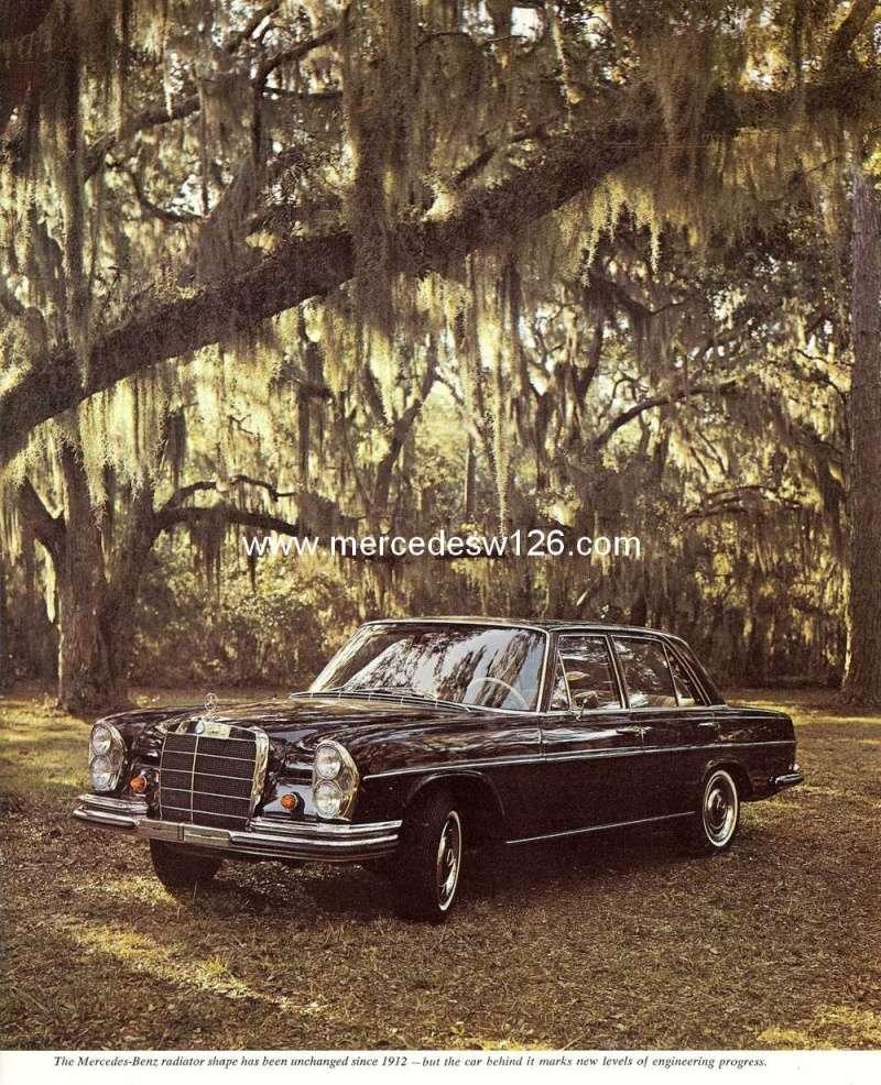Catalogue de 1966 sur les Mercedes W108 250 américaines W108_231