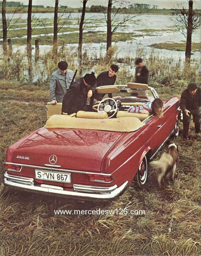 Catalogue de 1966 sur les Mercedes W108 250 américaines W108_236