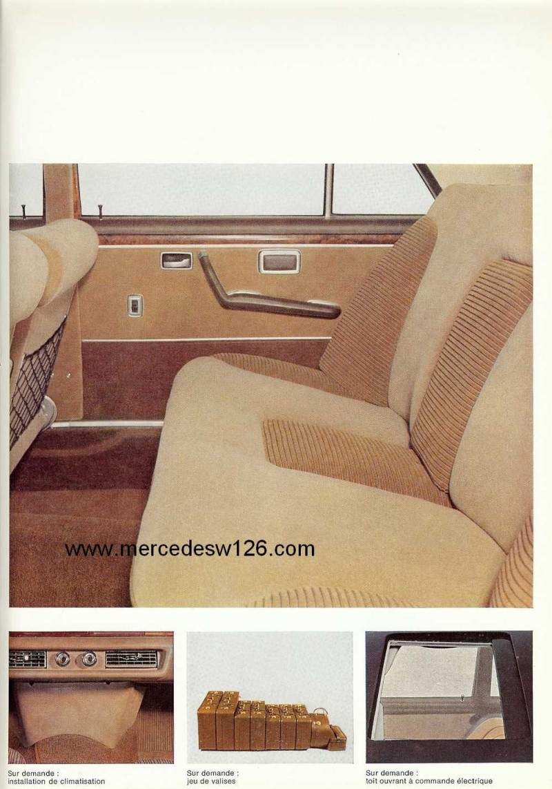 Catalogue de 1967 sur la Mercedes W109 300 SEL W109_317