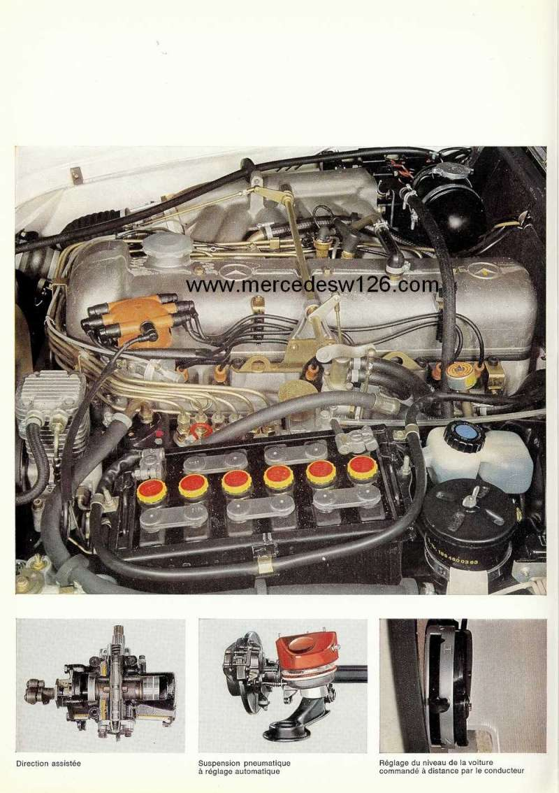 Catalogue de 1967 sur la Mercedes W109 300 SEL W109_322