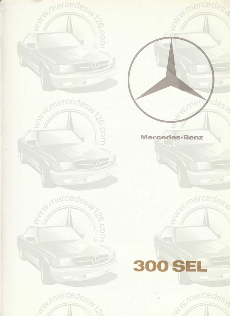 Catalogue de 1967 sur la Mercedes W109 300 SEL W109_325