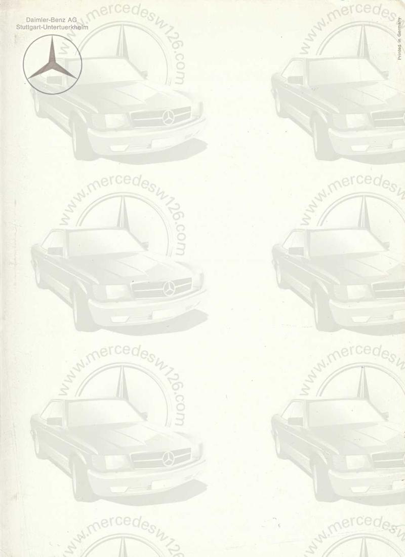 Catalogue de 1967 sur la Mercedes W109 300 SEL W109_330