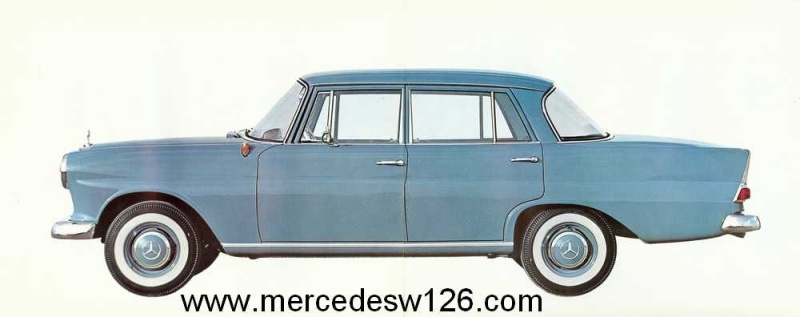 Catalogue de 1964 sur les Mercedes W110 190 & 190 D W110_112
