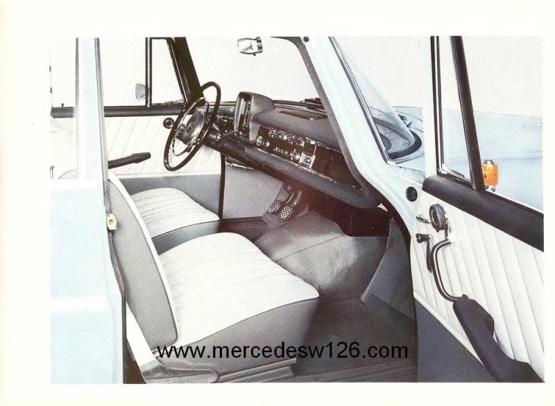 Catalogue de 1964 sur les Mercedes W110 190 & 190 D W110_114