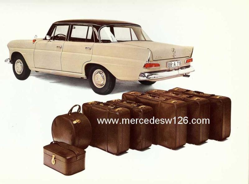 Catalogue de 1964 sur les Mercedes W110 190 & 190 D W110_118