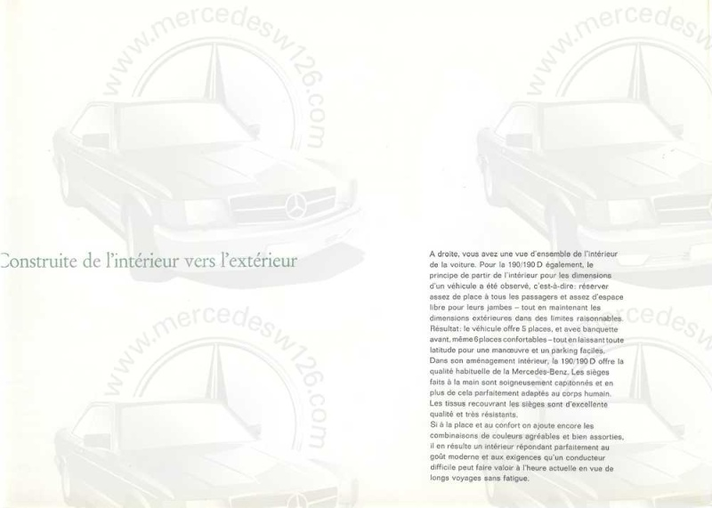 Catalogue de 1964 sur les Mercedes W110 190 & 190 D W110_121