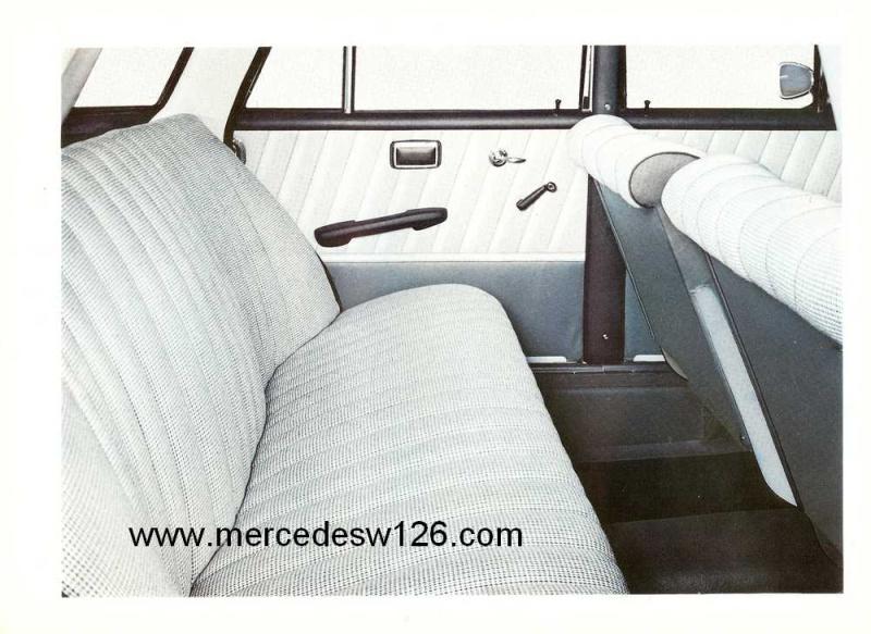 Catalogue de 1964 sur les Mercedes W110 190 & 190 D W110_123
