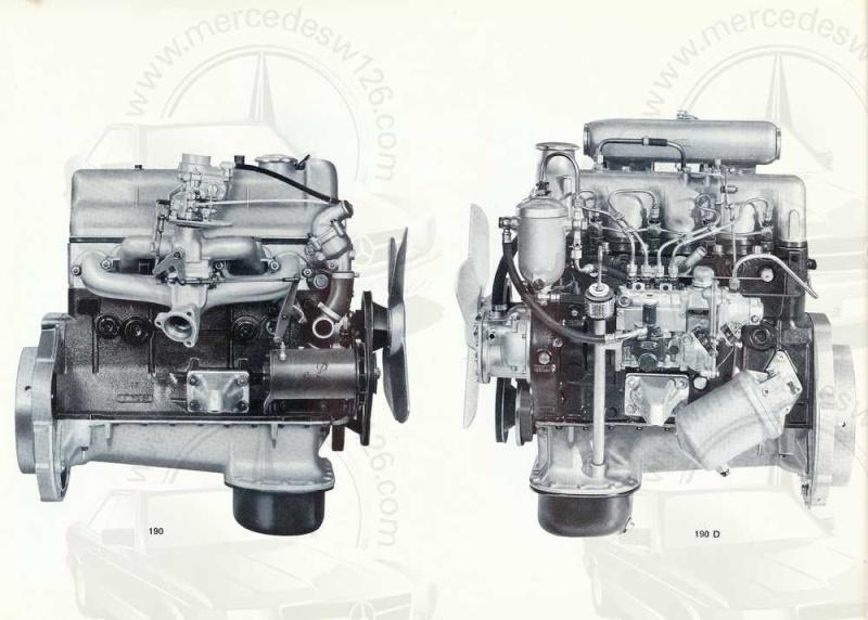 Catalogue de 1964 sur les Mercedes W110 190 & 190 D W110_125