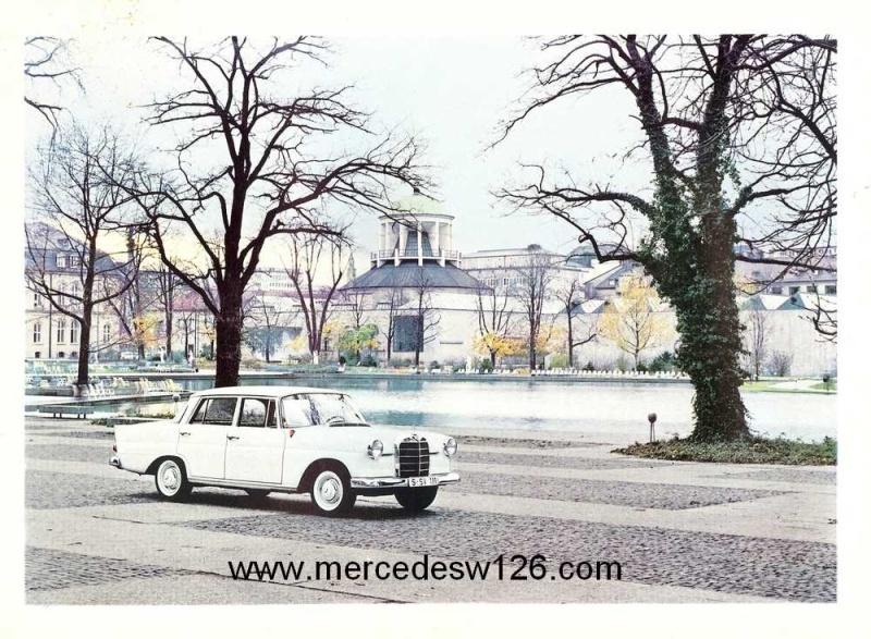 Catalogue de 1964 sur les Mercedes W110 190 & 190 D W110_128
