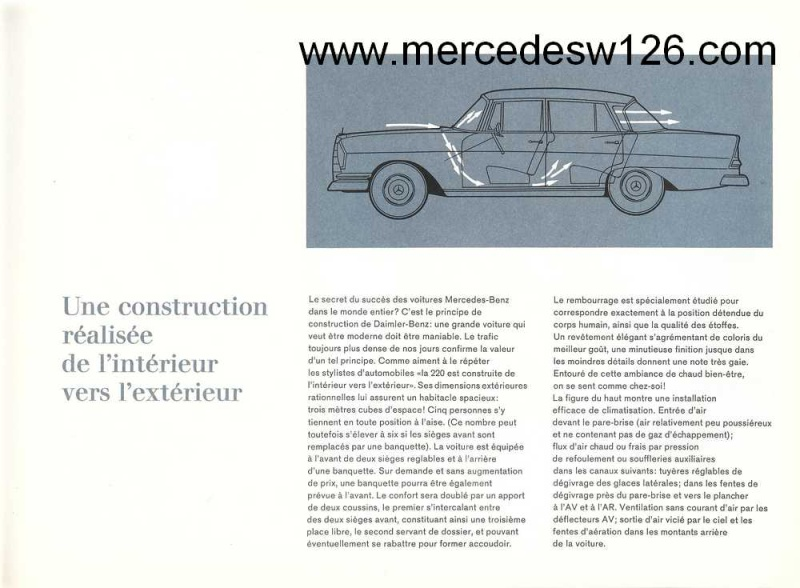 Catalogue de1964 sur la Mercedes W110 220 W110_218