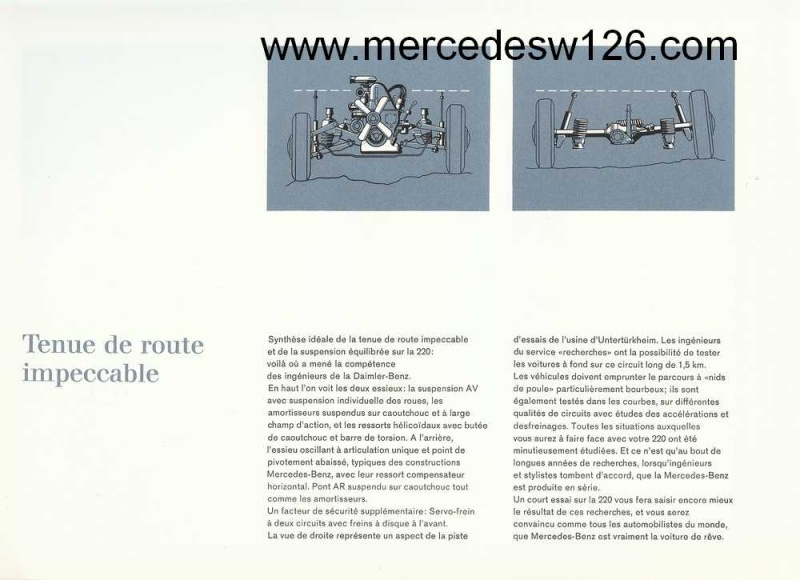 Catalogue de1964 sur la Mercedes W110 220 W110_222