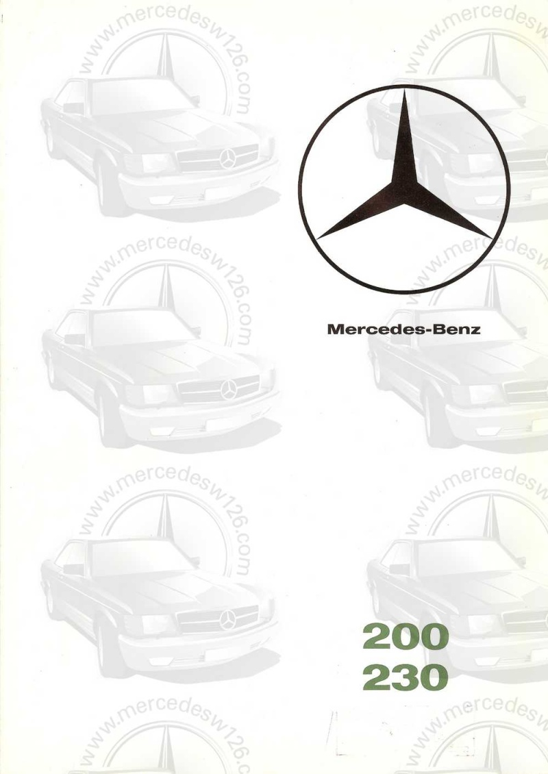 Catalogue de 1965 sur les Mercedes W110 200 & 230 W110_229
