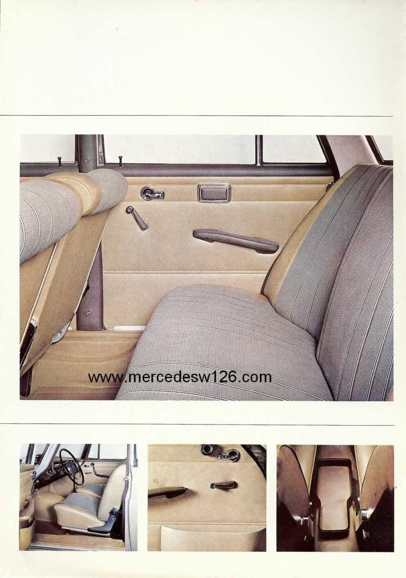 Catalogue de 1965 sur les Mercedes W110 200 & 230 W110_232