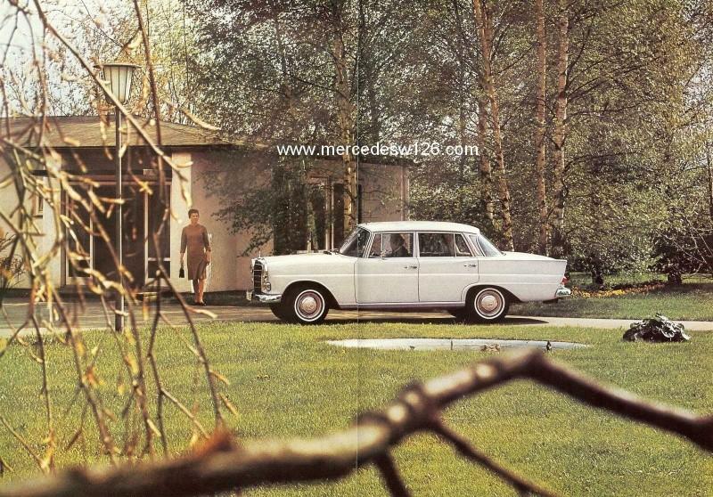 Catalogue de 1965 sur les Mercedes W110 200 & 230 W110_235