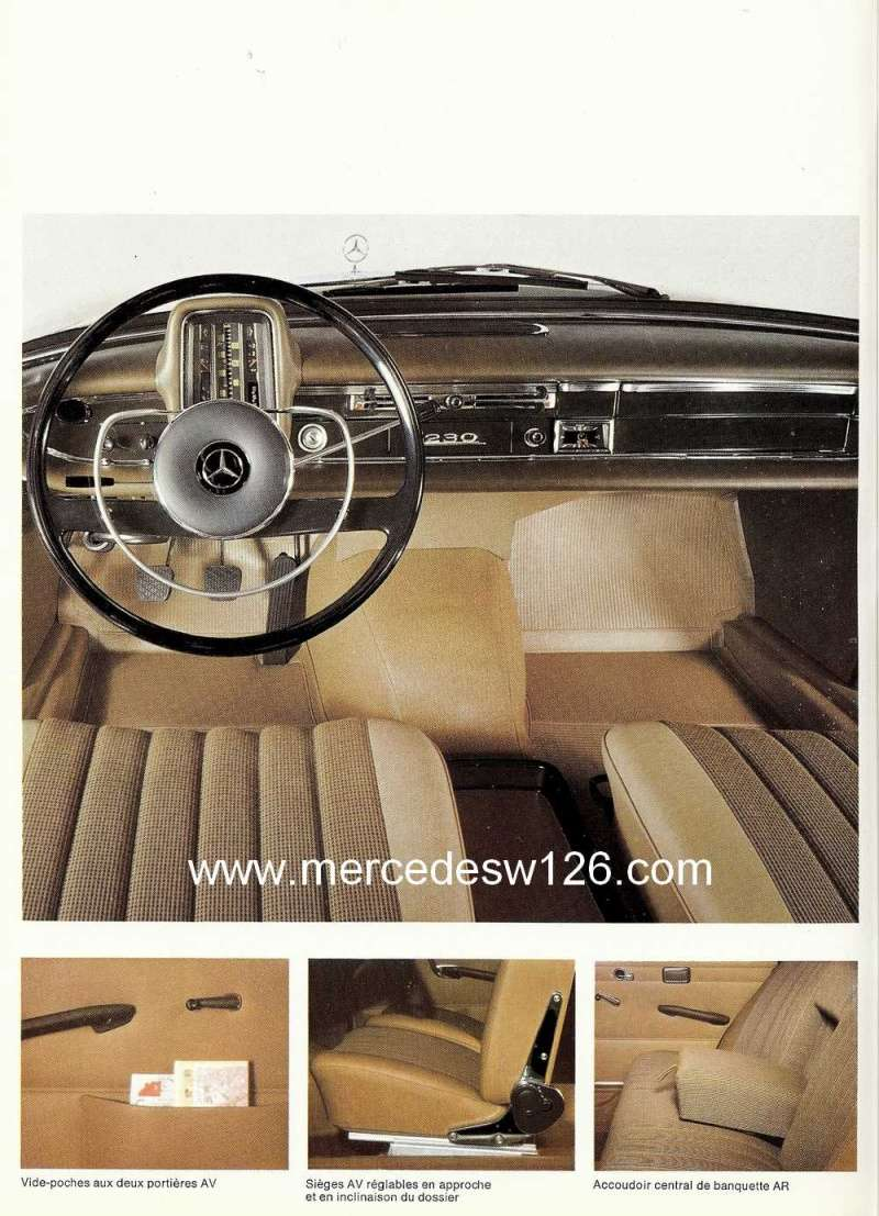 Catalogue de 1967 sur la Mercedes W110  230 W110_240