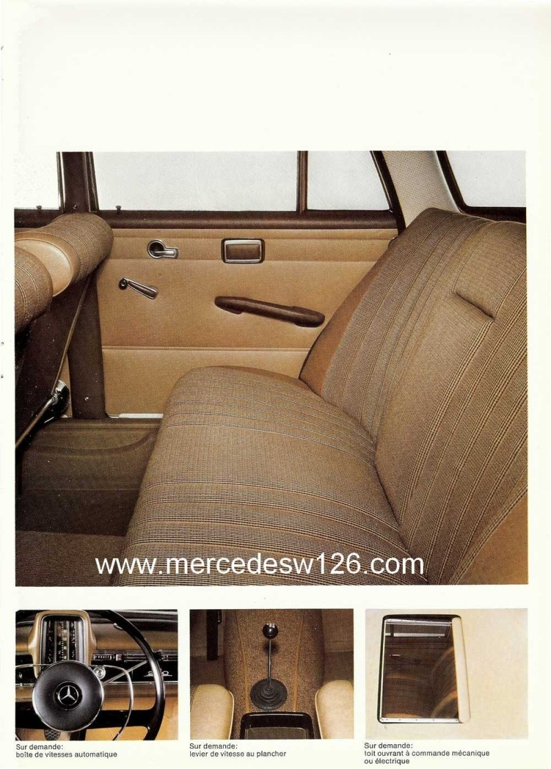 Catalogue de 1967 sur la Mercedes W110  230 W110_245