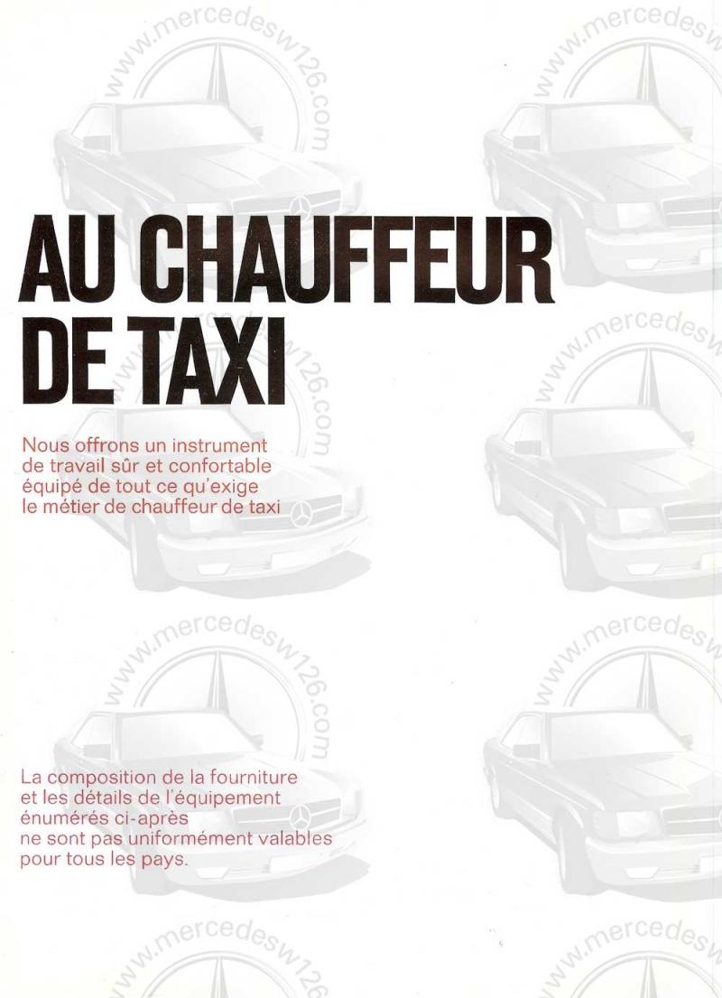 Catalogue de 1965 sur la Mercedes W110 200 D Taxi W110_t10