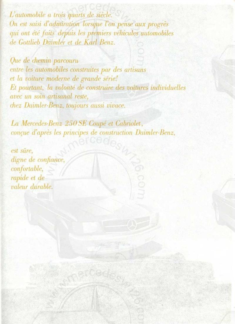 Catalogue de 1967 sur les Mercedes W111 250 SE coupé & cabriolet W112_213
