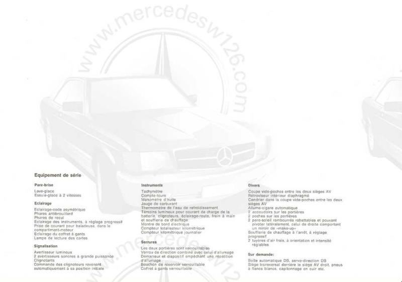 "Catalogue de 1965 sur la Mercedes W113 230 SL ""pagode"" W113_229"
