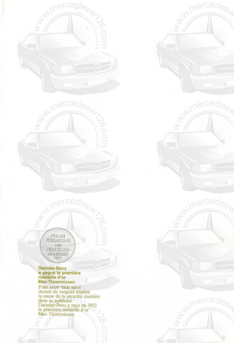 Catalogue de 1972 sur les Mercedes W114 250, 280 & 280 E W114_110