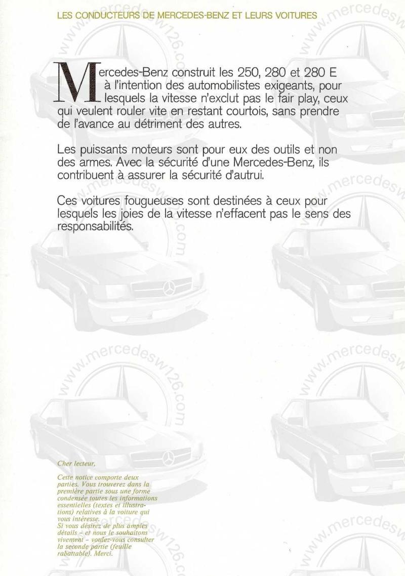 Catalogue de 1972 sur les Mercedes W114 250, 280 & 280 E W114_114