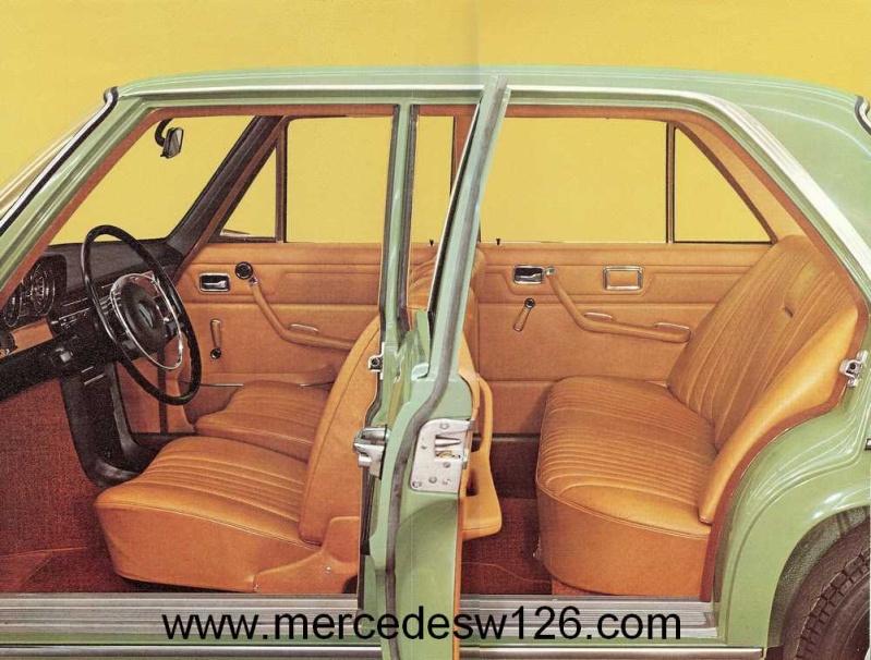 Catalogue de 1972 sur les Mercedes W114 250, 280 & 280 E W114_116